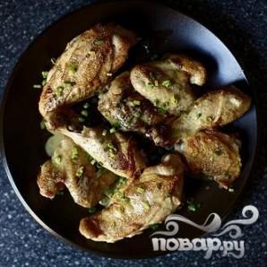 Жареная курица с горчичным соусом - фото шаг 4