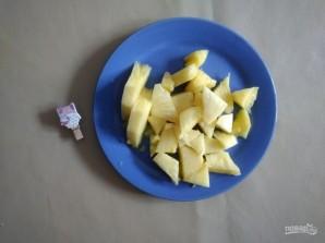 Банановое мороженое с ананасом - фото шаг 5