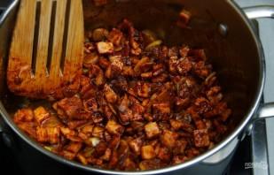 Испанский чесночный суп с перцем - фото шаг 5