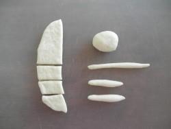 Булочки с кремом в виде барашек - фото шаг 4