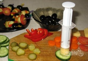 Закуска из овощей - фото шаг 1