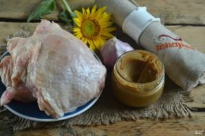 Куриные бедра с горчицей в духовке - фото шаг 1
