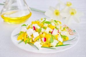 Салат весенний с сельдереем - фото шаг 3