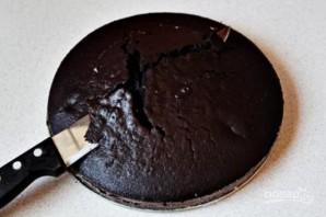 """Шоколадный бисквит """"Волшебный"""" - фото шаг 9"""