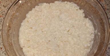 Рисовая запеканка с творогом - фото шаг 2
