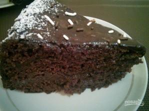 Простой шоколадный торт в мультиварке - фото шаг 5