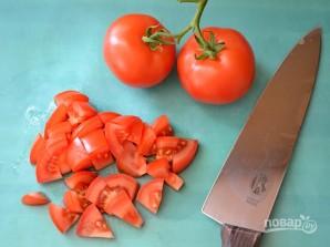 Салат с белой фасолью консервированной - фото шаг 4