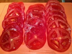 Мясо с сыром и помидорами в духовке - фото шаг 2