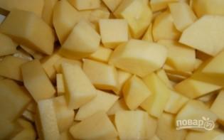 Жареное мясо с картошкой в мультиварке - фото шаг 3