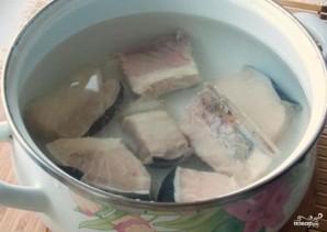 Суп из осетрины с картофелем - фото шаг 2