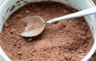 Постный пирог с какао - фото шаг 3