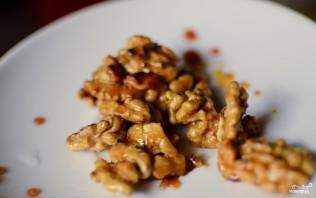 Фруктовый салат с орехами - фото шаг 3