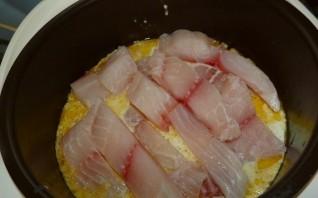 Рыба с кабачками в мультиварке - фото шаг 6