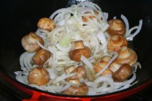 Вегетарианский плов с грибами - фото шаг 4