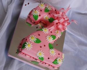 "Торт ""Двойка"" - фото шаг 8"