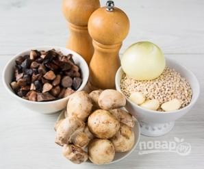 Перловая каша с грибами - фото шаг 1