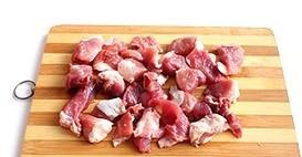 Мясо со стручковой фасолью - фото шаг 1