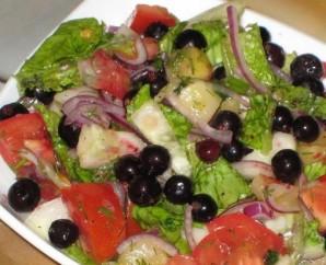 Салат со смородиной - фото шаг 3