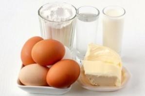Заварное тесто на молоке - фото шаг 1