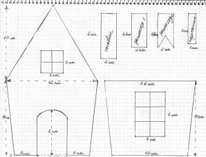 Пряничный домик - фото шаг 6