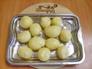 Тушеная картошка с грибами - фото шаг 4