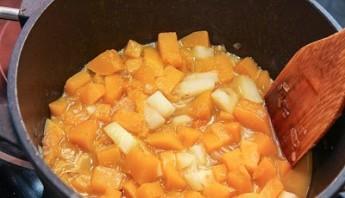 Суп из тыквы с курицей - фото шаг 3
