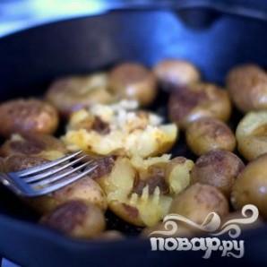 Картофель с соусом чили - фото шаг 6