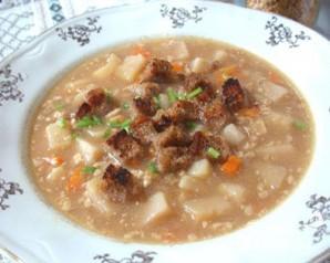 Суп гороховый с орехами - фото шаг 4