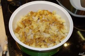 Жаркое со свининой и картошкой в мультиварке - фото шаг 1