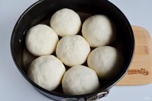 Сырные булочки с мясной начинкой - фото шаг 11