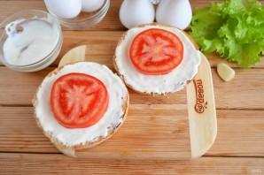 Бутерброд с яйцом (мастер класс) - фото шаг 5