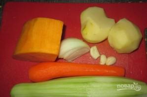 Суп-пюре из тыквы диетический - фото шаг 1