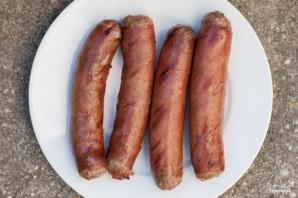 Сосиски с капустой по-немецки - фото шаг 5