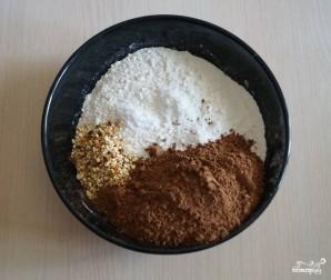 Шоколадный пирог с кабачками - фото шаг 8