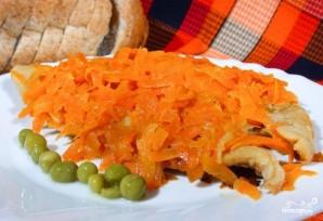 Рыба с морковью - фото шаг 4