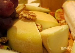 Сырная тарелка - фото шаг 5