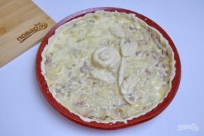 Супер нежный пирог с капустой и мясом - фото шаг 10