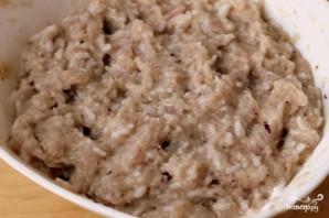 Котлеты из индейки с рисом - фото шаг 3