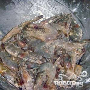 Хрустящие креветки с чесноком - фото шаг 1