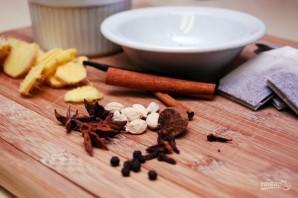 Ароматный чай с бурбоном - фото шаг 1