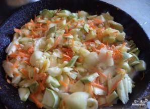 Икра из кабачков с морковью и луком - фото шаг 3