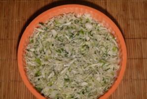 Ленивый капустный пирог - фото шаг 10