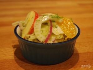 Салат из яблок - фото шаг 10