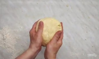 Открытый пирог с мясом, грибами и помидорами - фото шаг 2