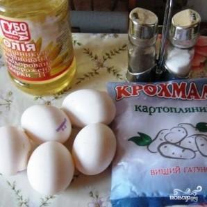 Яичные блинчики - фото шаг 1