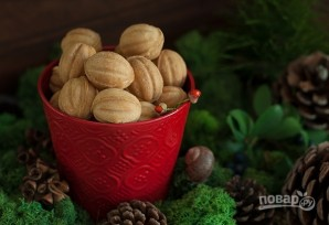 Орешки со сгущенкой в электроорешнице - фото шаг 7