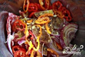 Стейк со сладким картофелем и соусом из петрушки - фото шаг 2