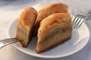 Пахлава с грецкими орехами - фото шаг 4