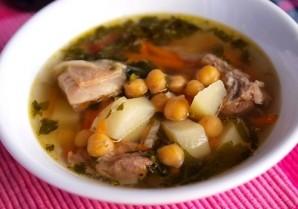 Суп из баранины и нута - фото шаг 5