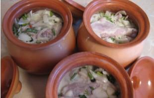 Курица в кефире с овощами - фото шаг 7